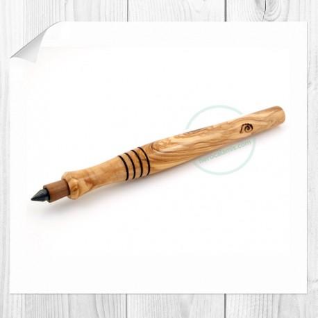 Olive wood lead pencil Figaro
