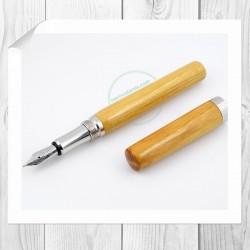 Penna stilografica in legno di Osage