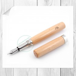 Ash wood Fountain pen model Prado