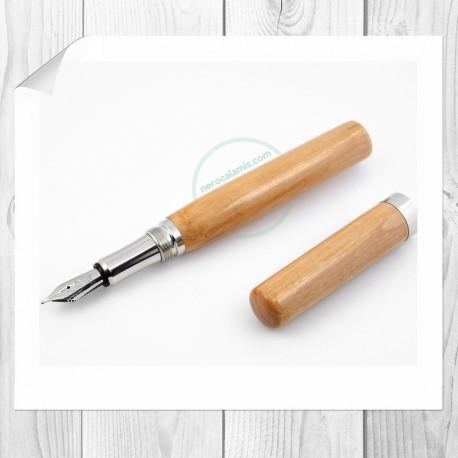 Hawthorn wood hand turned fountain pen