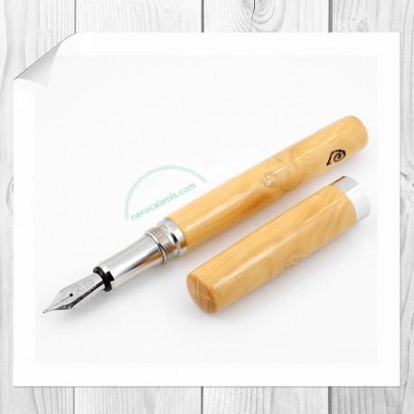 Penna stilografica in legno di bosso