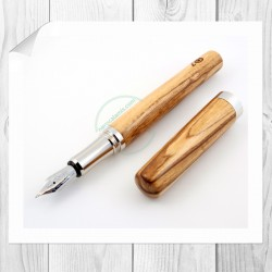 Olive fountain pen Corfino